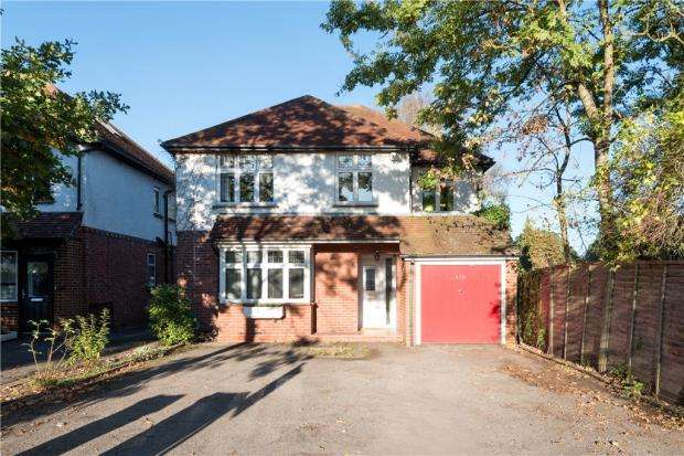 4 Bedrooms Detached House for sale in Frimley Road, Camberley, Surrey