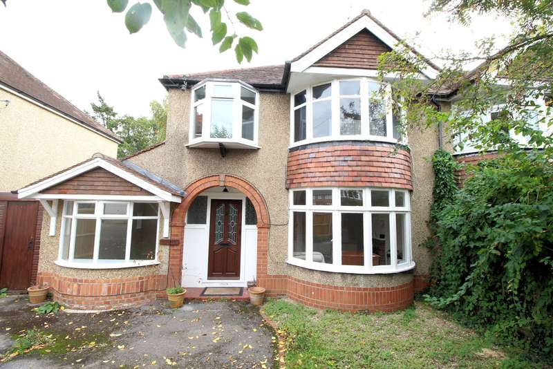3 Bedrooms Semi Detached House for sale in Geoffreyson Road, Caversham, Reading, RG4