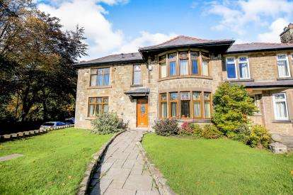 3 Bedrooms Semi Detached House for sale in Low Leighton, New Mills, High Peak, Derbyshire