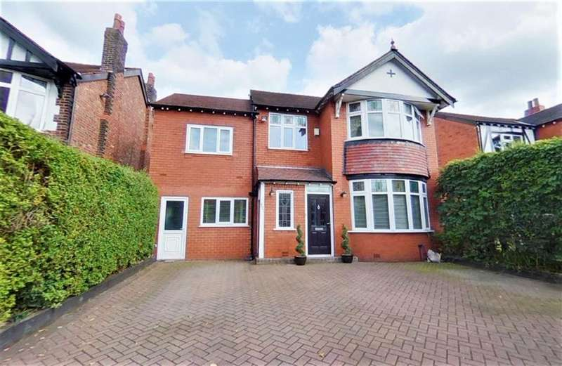 4 Bedrooms Detached House for sale in Bramhall Lane, Davenport, Stockport