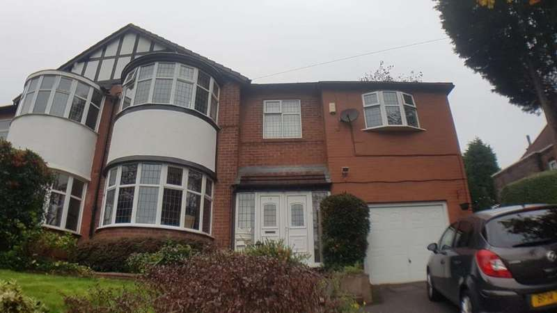 4 Bedrooms Semi Detached House for sale in Sedgley Park Road, Prestwich, M25