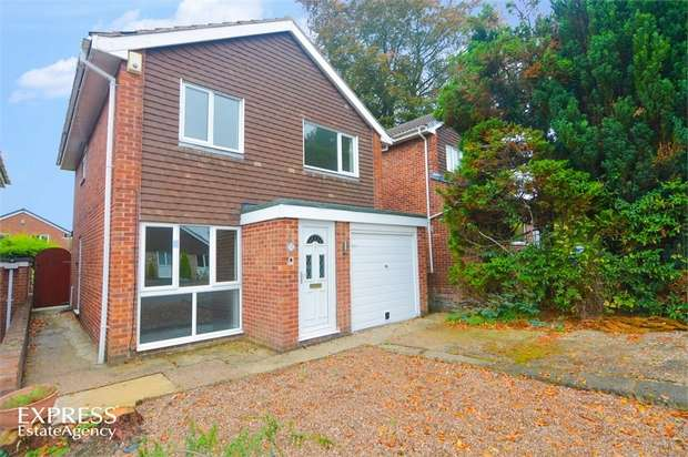 3 Bedrooms Detached House for sale in Upland Rise, Chesterfield, Derbyshire