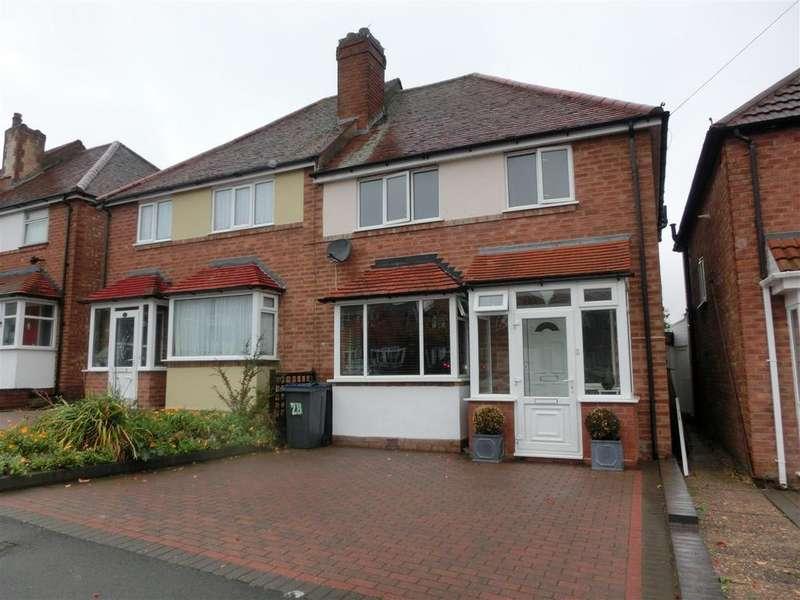 3 Bedrooms Semi Detached House for sale in Ollerton Road, Birmingham