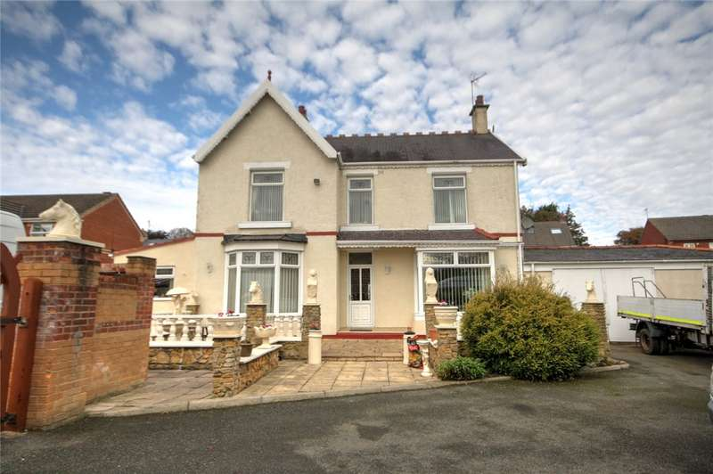 4 Bedrooms Detached House for sale in Manor Road, St Helen Auckland, Bishop Auckland, DL14