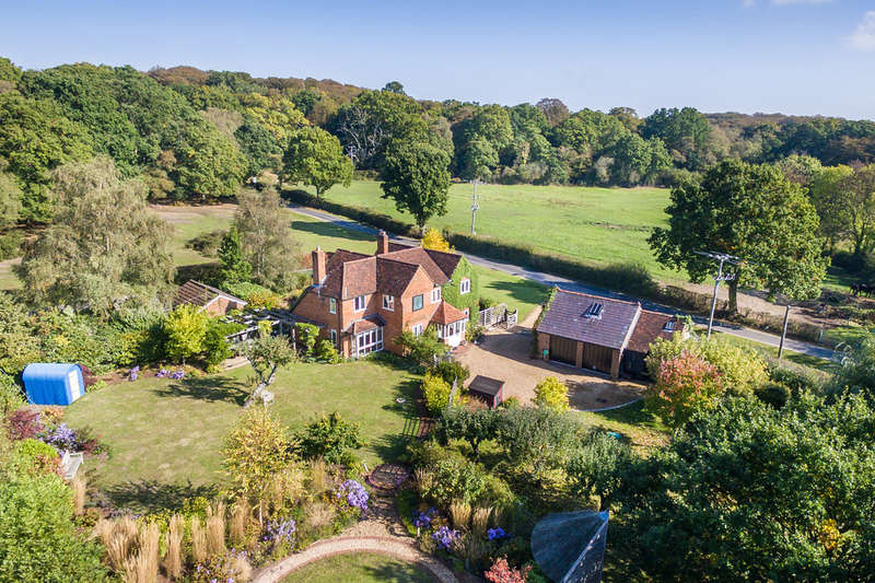 4 Bedrooms Detached House for sale in London Minstead, New Forest, Hampshire