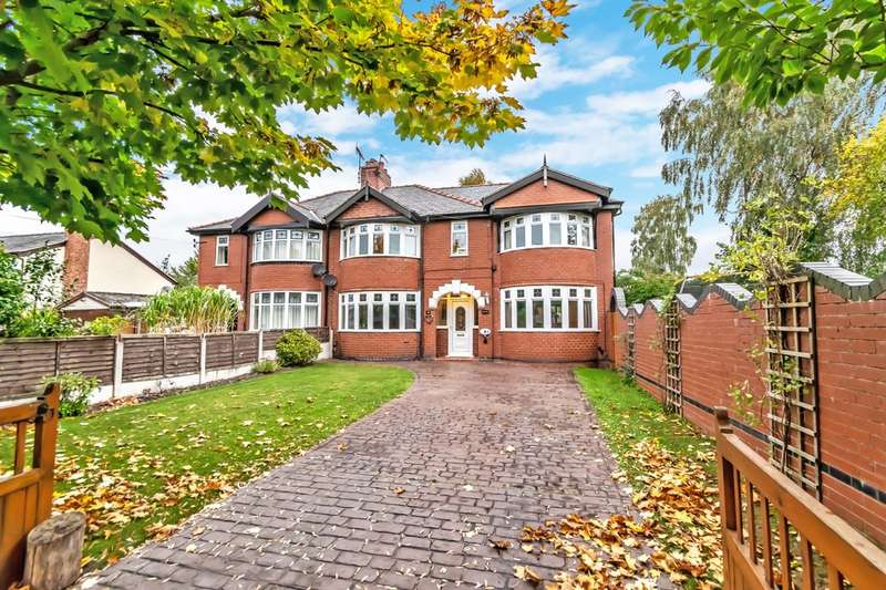 4 Bedrooms Semi Detached House for sale in Mill Lane, Houghton Green