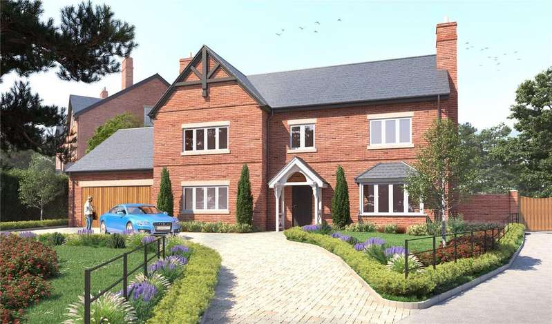 4 Bedrooms Detached House for sale in Longcroft, The Beeches, Malpas, Cheshire, SY14