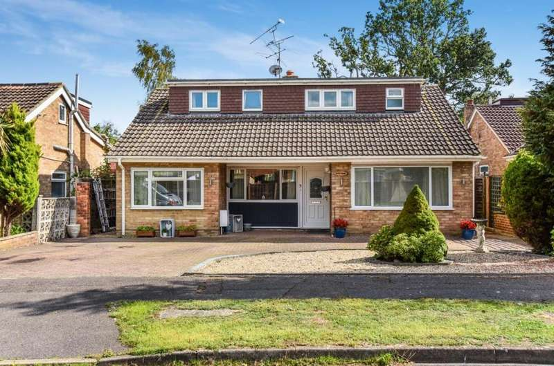 4 Bedrooms Detached House for sale in Blackwater, Camberley, GU17