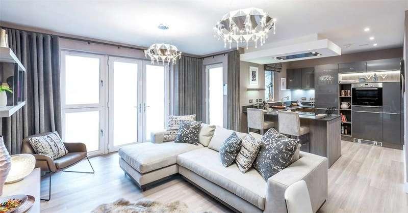 3 Bedrooms Flat for sale in Plot 98, 21 Mansionhouse Road, Langside, Glasgow, G41