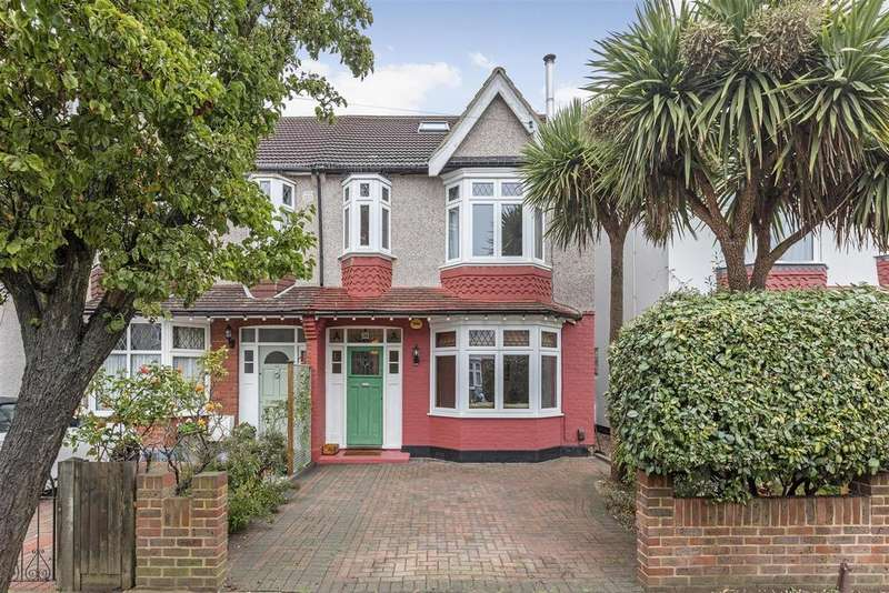 4 Bedrooms Semi Detached House for sale in Camberley Avenue, Wimbledon