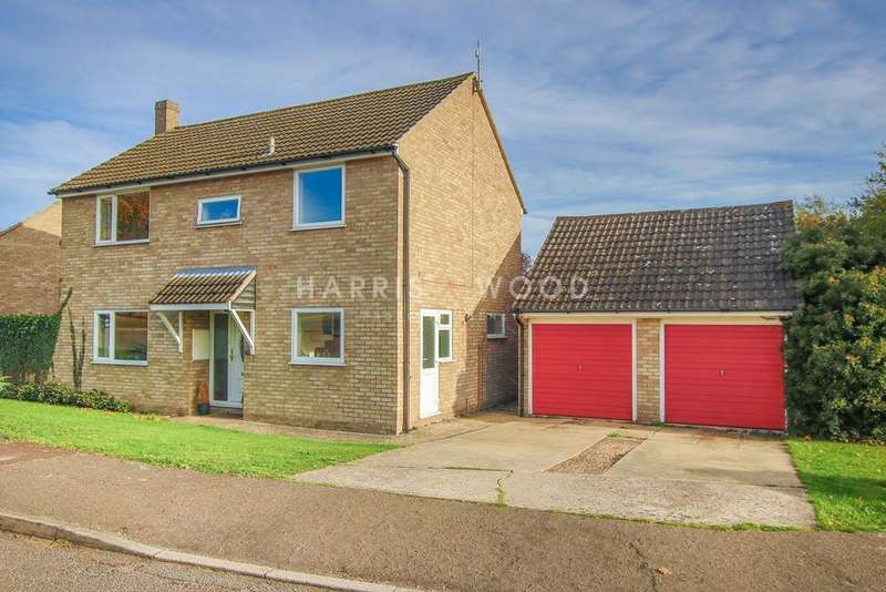 4 Bedrooms Detached House for sale in Heathfields, Eight Ash Green, Colchester, CO6