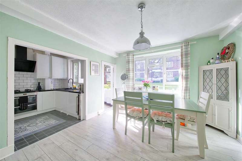 2 Bedrooms Flat for sale in Greenleaf Close, Brixton