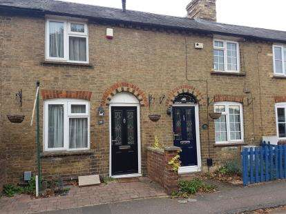 2 Bedrooms Terraced House for sale in High Street, Langford, Biggleswade, Bedfordshire