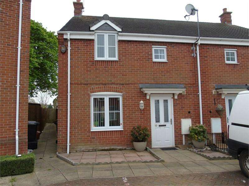 3 Bedrooms Semi Detached House for sale in Harvey Close, Barwell