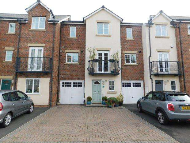 4 Bedrooms Terraced House for sale in FARADAY COURT, NEVILLES CROSS, DURHAM CITY
