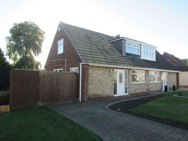 3 Bedrooms Semi Detached House for sale in TRURO DRIVE, FENS, HARTLEPOOL