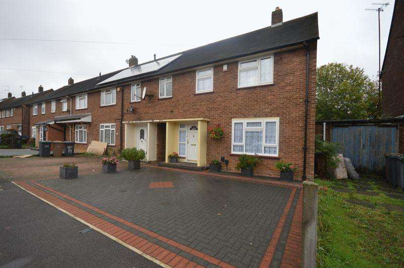 3 Bedrooms End Of Terrace House for sale in Whitethorn Way, Luton