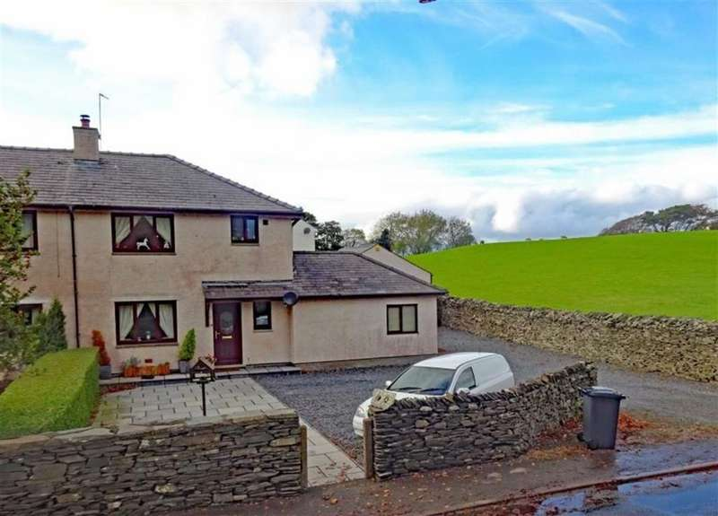 3 Bedrooms Semi Detached House for sale in Sandside, Kirkby In Furness, Cumbria