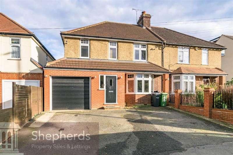 3 Bedrooms Semi Detached House for sale in High Road, Broxbourne, Hertfordshire, EN10