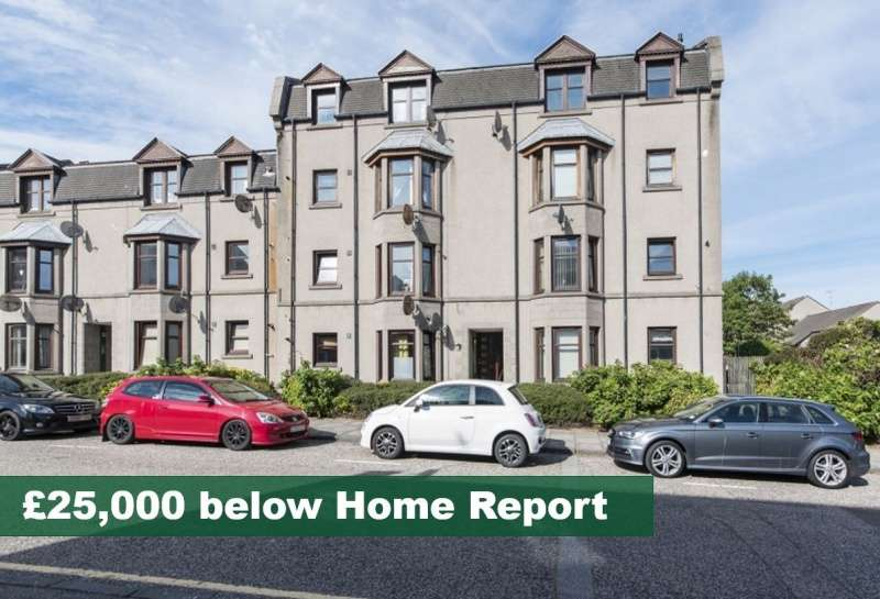 2 Bedrooms Flat for sale in Farmers Hall, Aberdeen, Aberdeenshire, AB25 1XF