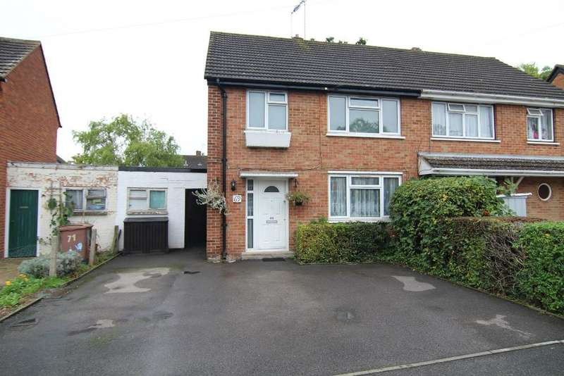 3 Bedrooms Semi Detached House for sale in Longs Way, Wokingham, Berkshire, RG40 1QW