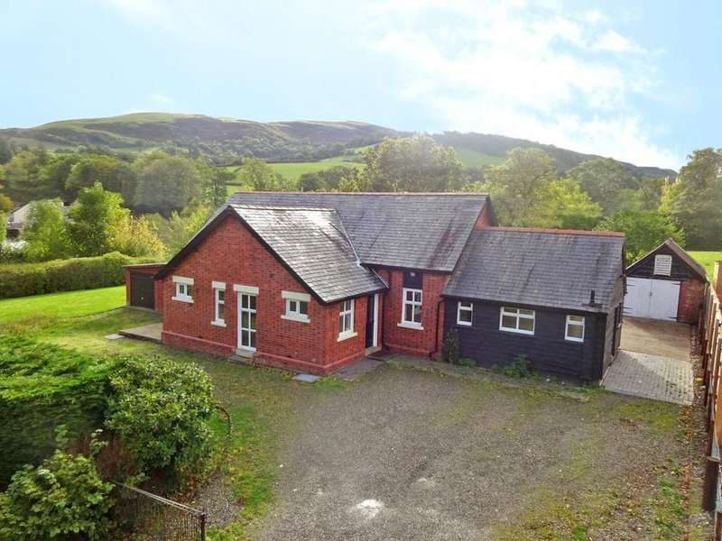 3 Bedrooms Semi Detached House for sale in Bont Dolgadfan, Llanbrynmair, Powys