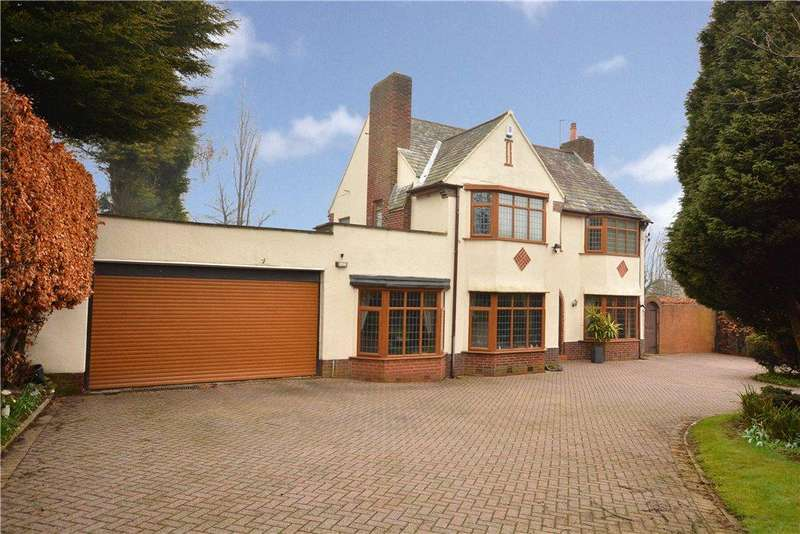 5 Bedrooms Detached House for sale in Woodhall Lane, Calverley, Pudsey, West Yorkshire