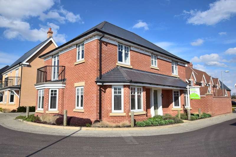 4 Bedrooms Detached House for sale in Spartan Close, Great Horkesley, CO6 4FL