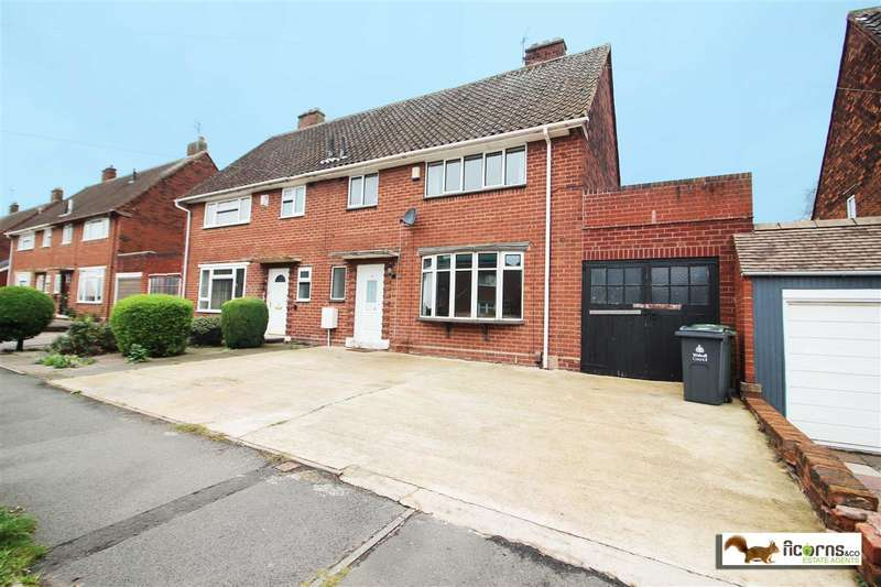 4 Bedrooms Semi Detached House for sale in Durham Road, Walsall