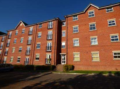 2 Bedrooms Flat for sale in Allenby Close, Lincoln, Lincolnshire, .