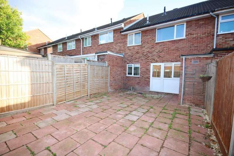 3 Bedrooms Terraced House for sale in Wren Close, Melton Mowbray