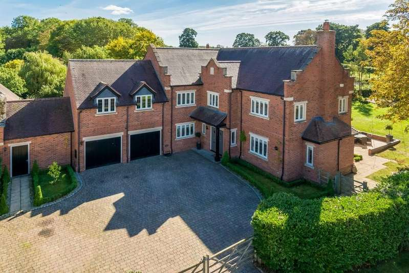 5 Bedrooms Detached House for sale in Goldicote, Stratford-upon-Avon