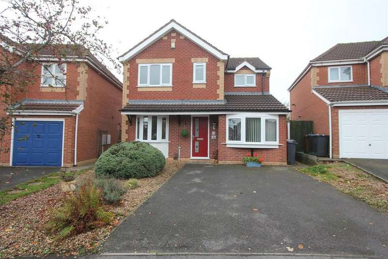 4 Bedrooms Detached House for sale in Morland Drive, Hinckley