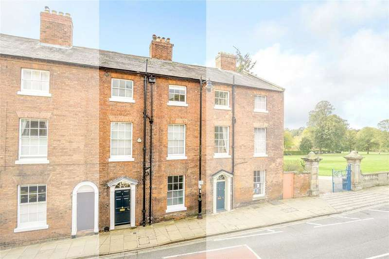 4 Bedrooms Terraced House for sale in St. Chads Terrace, Shrewsbury