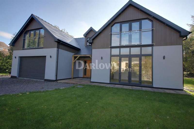 4 Bedrooms Detached House for sale in Darenfelen Road, Brynmawr, Blaenau Gwent
