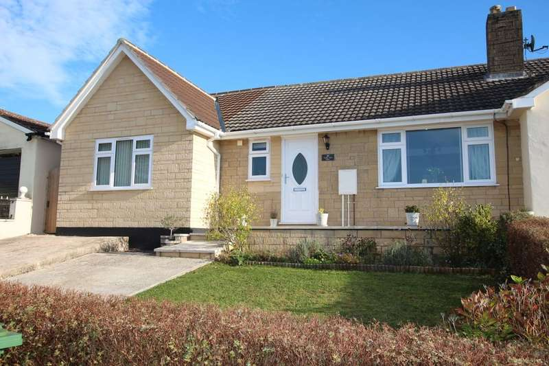 3 Bedrooms Semi Detached Bungalow for sale in Valley View Road, Paulton, Bristol, BS39