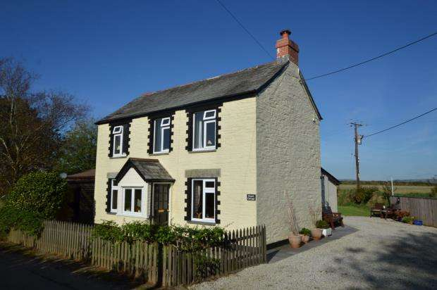 3 Bedrooms Detached House for sale in East Taphouse, Liskeard, Cornwall