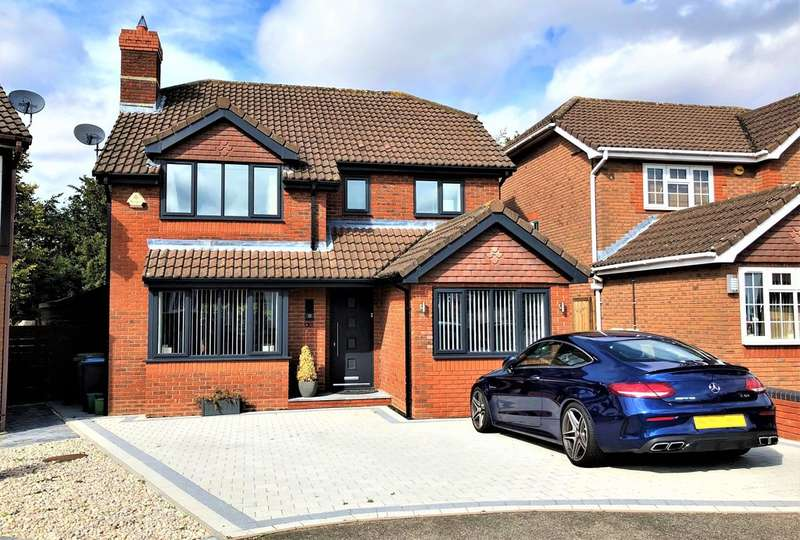 4 Bedrooms Detached House for sale in Jarman Park, Hemel Hempstead