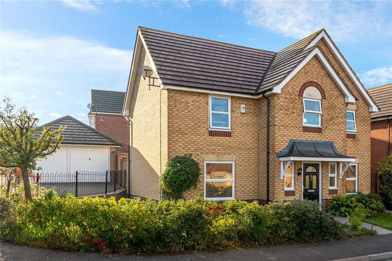 4 Bedrooms Detached House for sale in Victory Way, Sleaford, Lincolnshire, NG34