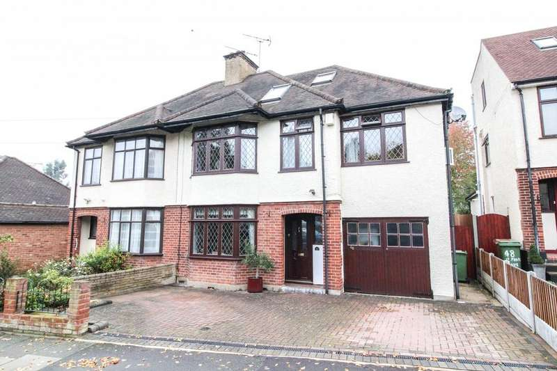 5 Bedrooms Semi Detached House for sale in St. Johns Avenue, Warley, Brentwood, Essex, CM14