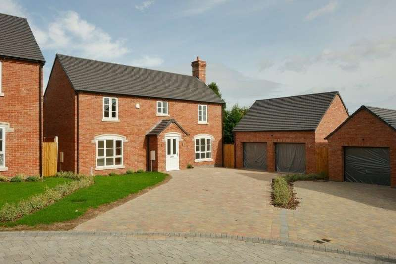 4 Bedrooms Detached House for sale in William Ball Drive, Horsehay, Telford, Shropshire, TF4 2SQ