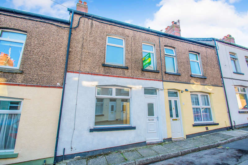 3 Bedrooms Terraced House for sale in Caradoc Street, Pentwyn, Pontypool