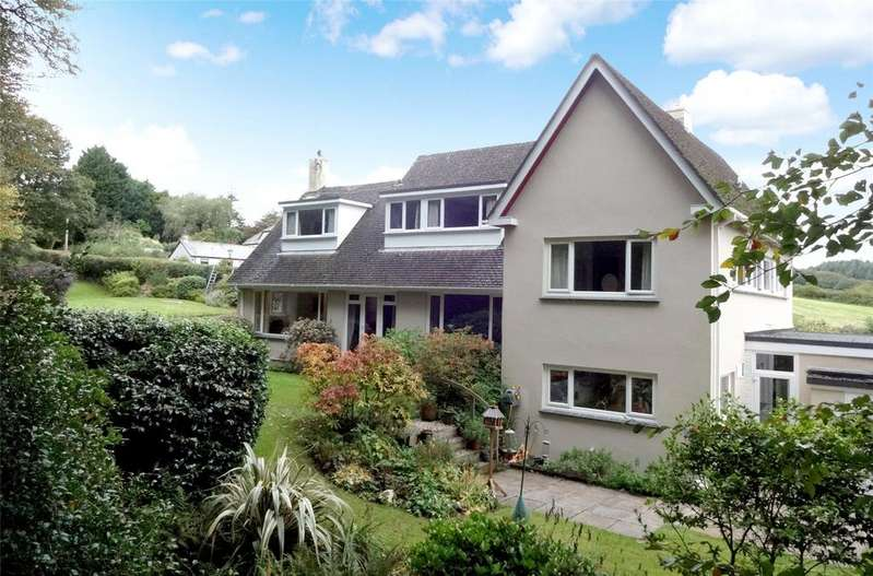 5 Bedrooms Detached House for sale in Fletchers Bridge, Bodmin