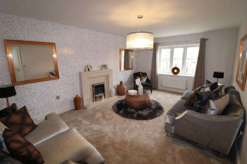 4 Bedrooms Detached House for sale in West Cross Lane, Loughborough
