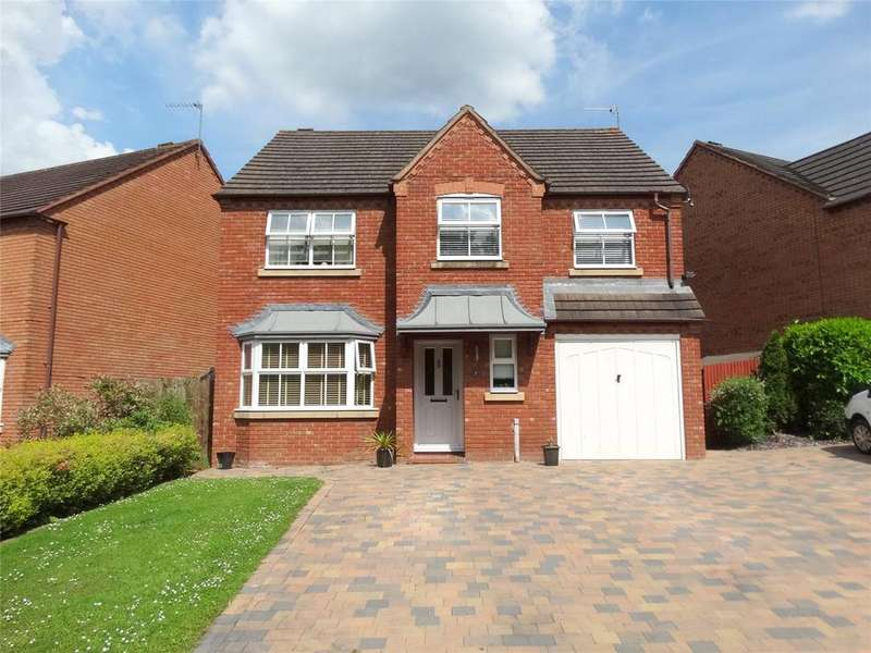 5 Bedrooms Detached House for sale in Bolton Avenue, Warndon Villages, Worcester, Worcestershire, WR4