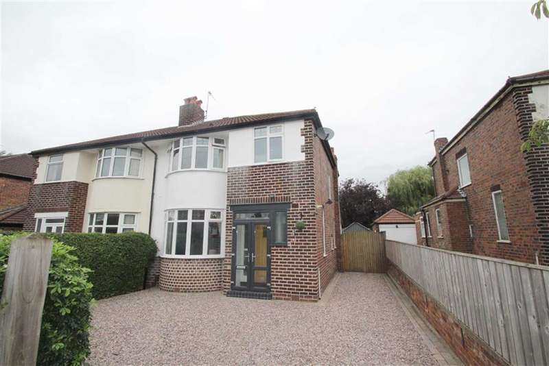 3 Bedrooms Semi Detached House for sale in Lorraine Road, Timperley, Altrincham