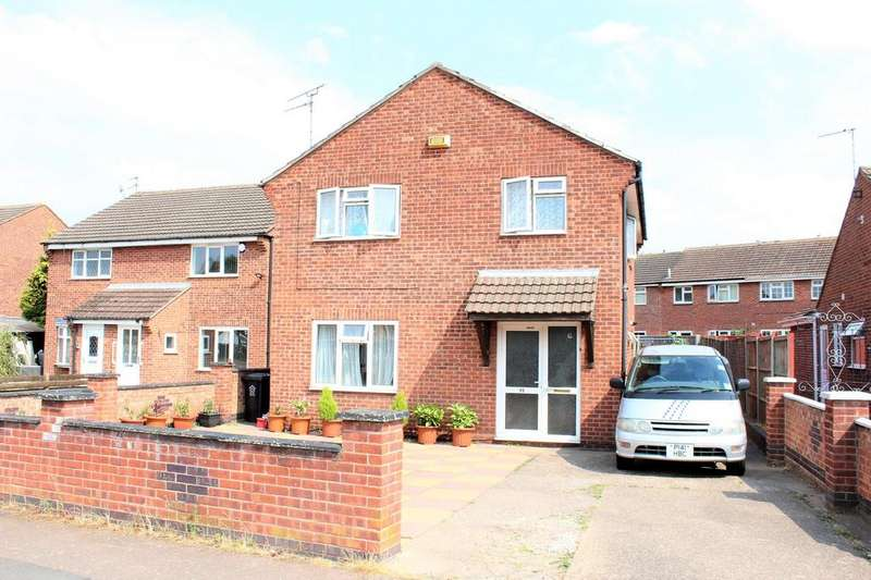 4 Bedrooms Detached House for sale in Nicklaus Road Thurmaston, Leicester, LE4