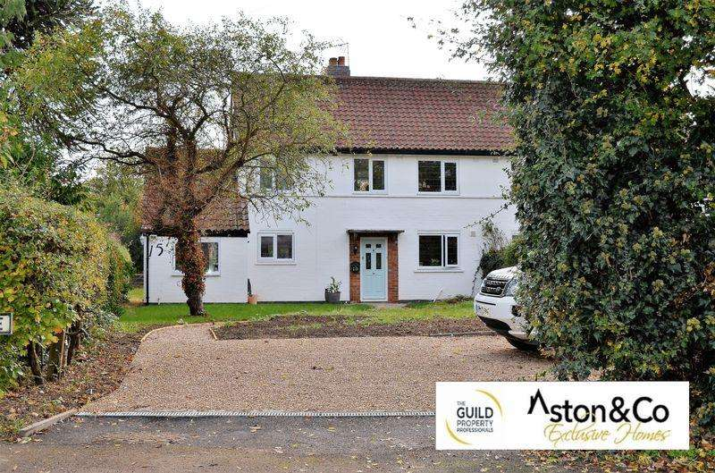 3 Bedrooms Semi Detached House for sale in Church Lane, Stoughton, Leicestershire LE2