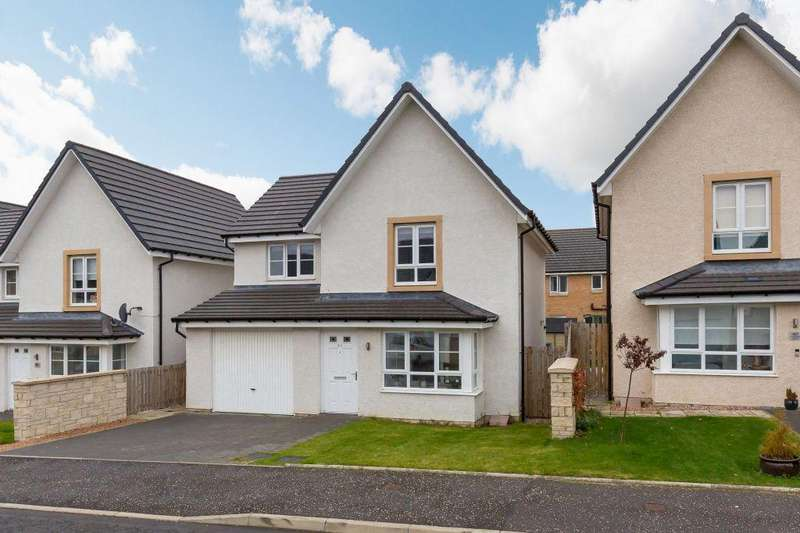 3 Bedrooms Detached House for sale in 64 Todshaugh Gardens, Kirkliston, EH29 9GE
