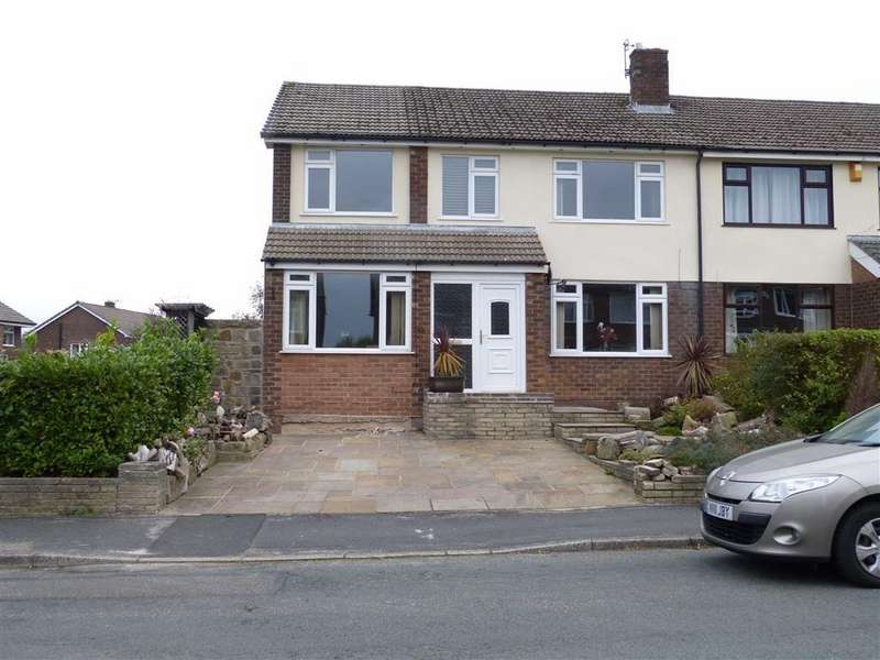 5 Bedrooms Semi Detached House for sale in Lower Barn Road, Hadfield, Glossop